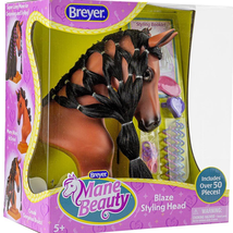 Breyer Blaze Mane Beauty Styling Head Bay Horse 7403 image 1