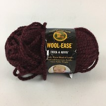 Wool Ease Yarn Worsted Weight Claret #143 One Skein - $6.79