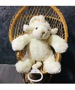 Just Pretend Kids Lamb Plushie Musical Crib Pull Toy - $24.45
