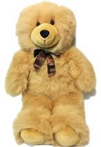 Fiesta Beige Cuddle Bear RARE Tan Plush Stuffed Soft Animal Toy Teddy 21... - $39.99