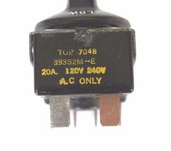 LOT OF 2 GENERIC 393S2M-E SELECTOR SWITCHES TOP 7048 20A, 120-240V, 393S2ME image 3