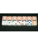 14 NEW Sealed Dominoes Double Twelve Missing Replacement Jumbo Colored T... - $9.88