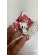 Gloomy Bear White Red Eye Color Keychain Figure Toy Mori Chax Taito - $7.64