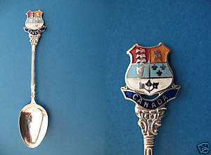 Vintage CANADA Collector Souvenir Spoon