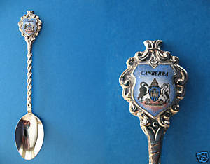 CANBERRA AUSTRALIA Collector Souvenir Spoon