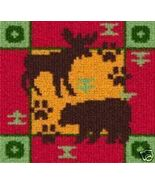 Latch Hook Rug Pattern Chart: Bear & Moose - EM... - $5.50