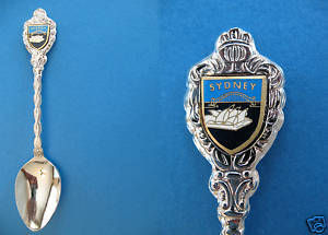 SYDNEY AUSTRALIA HARBOUR BRIDGE Opera House Souvenir Spoon