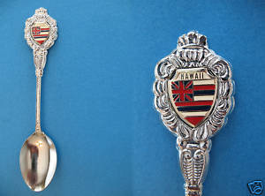 HAWAII STATE FLAG Collector Souvenir Spoon