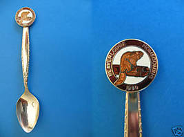 Beaverlodge Alberta 1980 Homecoming Souvenir Spoon - $5.99