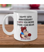 10 Year 10th Wedding Anniversary Funny Gift For Husband Wife Him Her Women - $13.95