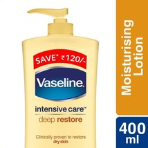 Vaseline Intensive Care Deep Restore Body Lotion, 400ml - $17.75