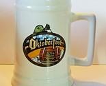 2014 Oktoberfest Mug Stein Leavenworth WA. Ceramic Warsteiner Paulaner .75 Liter
