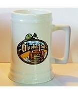 2014 Oktoberfest Mug Stein Leavenworth WA. Ceramic Warsteiner Paulaner .... - $26.72