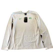 NWT New Oregon Ducks Nike Modern Crew OnField Size Small Sweatshirt - $49.45
