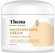 Thena Healing Cream 4.5 oz Peppermint Lavender Eczema Psoriasis 3/2023 F... - $14.84