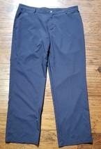 Mens Adidas Blue Climalite Pants Sz 38 Inseam 32 - $12.86