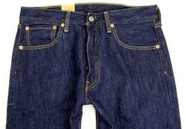 NEW NWT LEVI'S 501 MEN'S ORIGINAL FIT STRAIGHT LEG JEANS BUTTON FLY 501-0115 image 2