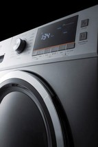"Summit SPWD2201SS 24"" Wide 115V Washer/Dryer Combo in Platinum Finish - $1,295.40"
