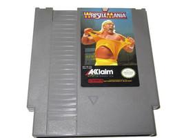 WWF WRESTLEMANIA  NINTENDO NES GAME ONLY  - $3.95