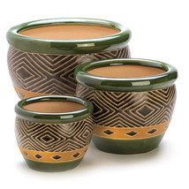 Jade Planters Trio 10013367 - $63.46