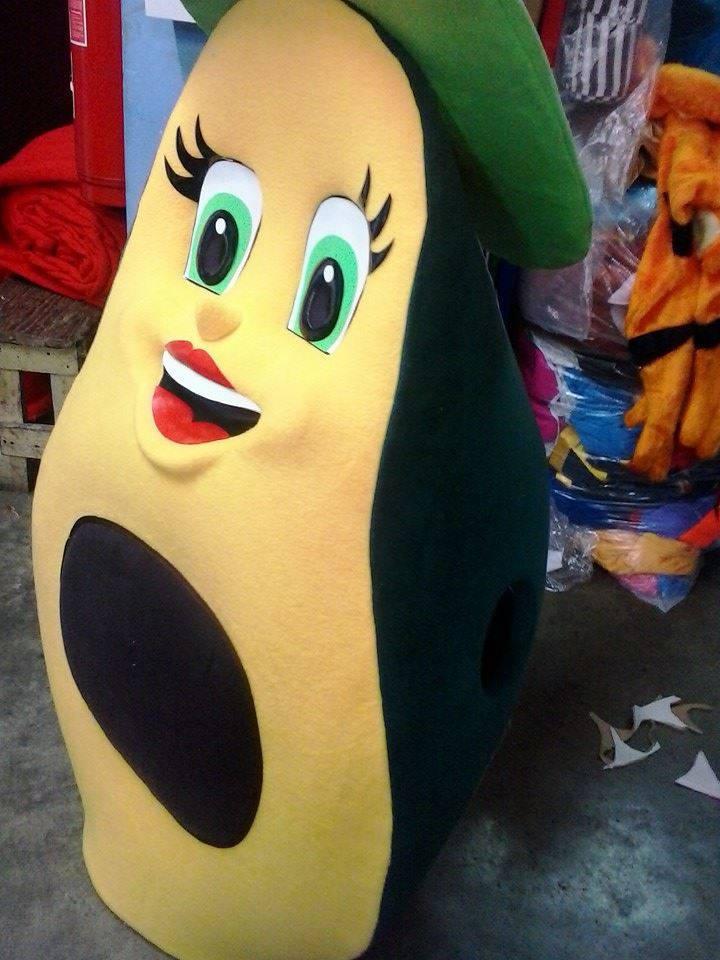 Avocado Mascot Costume Adult Avacado Costume For Sale