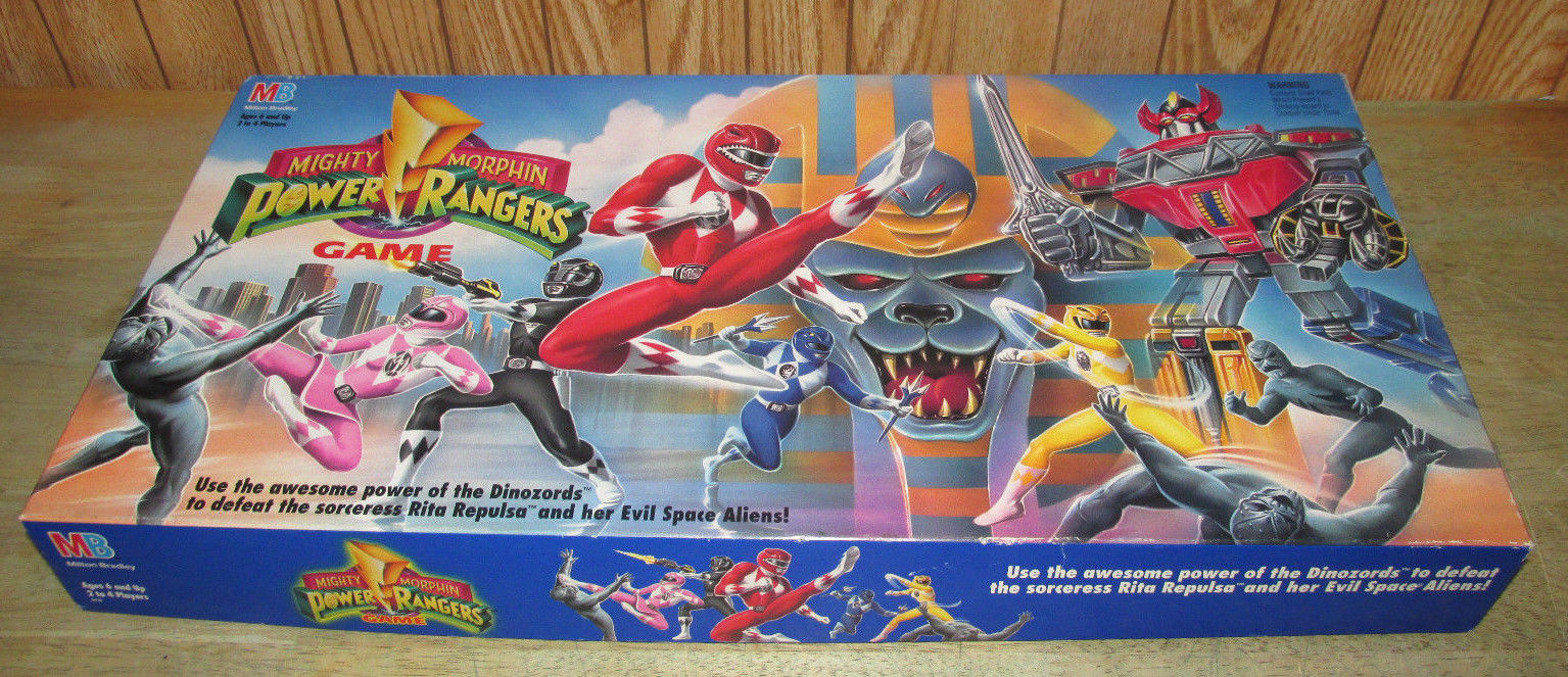 Primary image for 1993 Milton Bradley MIGHTY MORPHIN POWER RANGERS GAME Board Game Complete