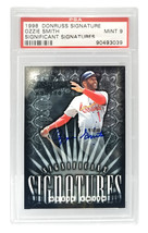 Ozzie Smith Signed St Louis Cardinals 1998 Donruss Signature Series Trad... - $80.00