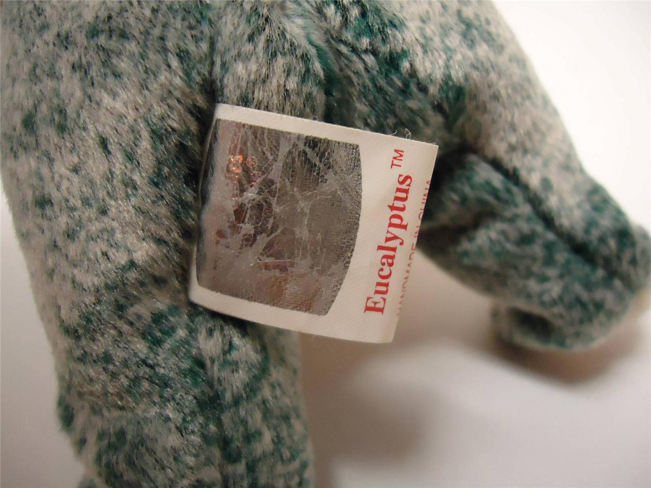 Ty Beanie Baby Koalas with Tags Mel 1996 and Eucalyptus 1999 Lot of 2