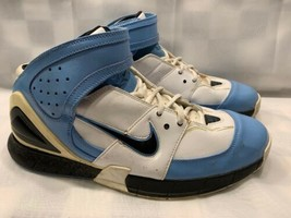 NIKE Double Figures Basketball Shoes Men's Size 13 Blue White 311904-103 - $19.79