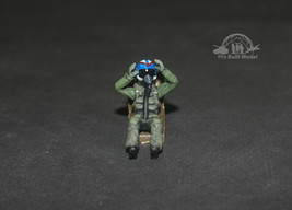 Seated USAF Pilot 1:48 Pro Built Model #2 - $14.85
