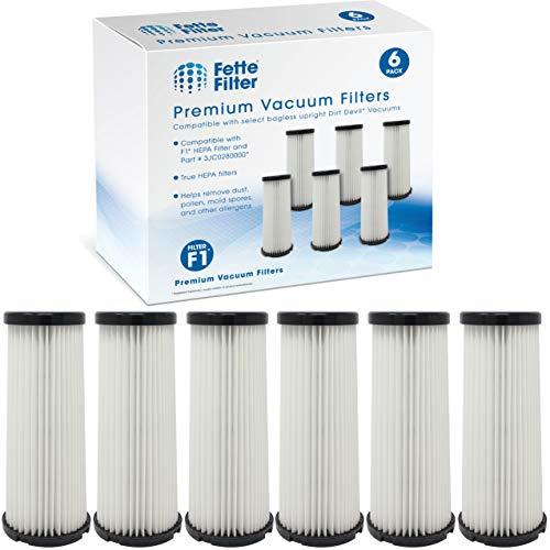 Fette Filter - Vacuum HEPA Filter Compatible with Dirt Devil F1 (F-1) Compare to