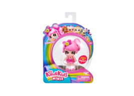 Kindi Kids Minis Donatina Posable Bobblehead Figure Doll With Glittery Eyes