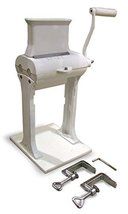 Omcan 10884 Commercial Cast Iron Manual Meat Tenderizer 5.5 x 1.75 mouth - $315.00