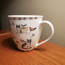 Coffee Mug, Milly Green cat breeds, kittens and mice, cat lady gift, brand new image 4