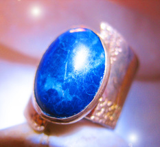 HAUNTED RING CASSIA4 ILLUMINATI DIVINE VORTEX SUCCESS WISH MAGICK MYSTICAL TREAS - $222.77