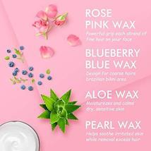 Wax Warmer Kit, KOTAMU Hair Removal Waxing Kit with 4 Hard Wax Beans Target for  image 2