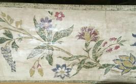Wallquest  Prepasted Wallpaper Border Floral Vine Greens CB71652B LOT OF... - $23.21