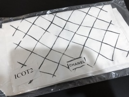 100% AUTH NEW Chanel Dust Bag Sleeper Karl Lagerfeld Edition Classic Bag ICOT2 image 3