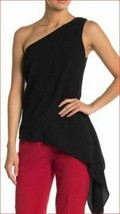new BCBGMAXAZRIA women blouse dress Cerise LMQ1Z426-001 092018 black sz ... - $34.64
