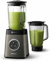 Philips Avance Collection HR3657/90 Blender 2 L 35000 RPM Iron Turn Buttons - $576.80
