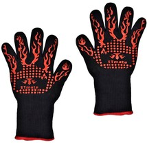 Baking Gloves Heat Resistant Barbecue Grilling ... - $18.99