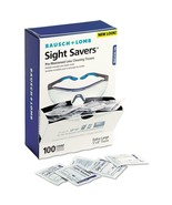 Bausch & Lomb Sight Savers Premoistened Lens Cleaning Tissues 100 Tissue... - $16.78