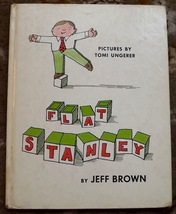 Flat Stanley by Jeff Brown and Tomi Ungerer HB  - $4.00