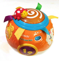 VTech Move and Crawl Baby Ball, Didactic Musical Toy - $17.82