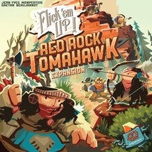 Red Rock Tomahawk: Flick 'em Up Board Game Wooden Dexterity Expansion (New) - $42.55