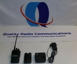 Vertex Standard VX-824-G7-5 450-512 MHz UHF Two Way Radio w Charger - $108.89