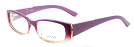 GUESS GU2385 PUR Women's Plastic Eyeglasses Frames 52-16-135 Purple + CASE - $64.15
