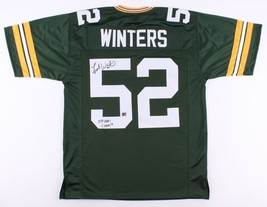 Frank Winters - Green Bay Packers - Hand Signed Custom Football Jersey - Coa - $89.05