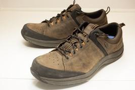 Dunham Seth-dun Waterproof 14 EE Brown Lace Up Men's - $68.00