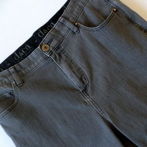 D&Co Women's Jeans 12 Faded Gray Boot Cut - $9.70